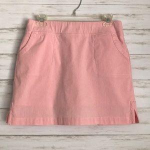 crown & ivy Shorts - CROWN & IVY seersucker skort